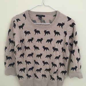 🦊Fox Print Forever 21 Light Weight Sweater
